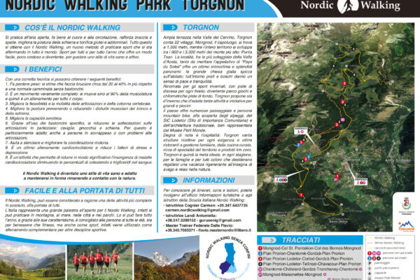Nordic Walking a Torgnon